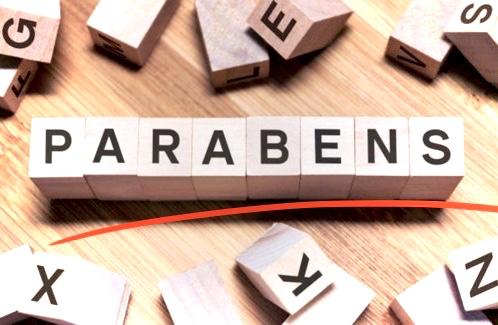 Scrabble pieces spelling parabens