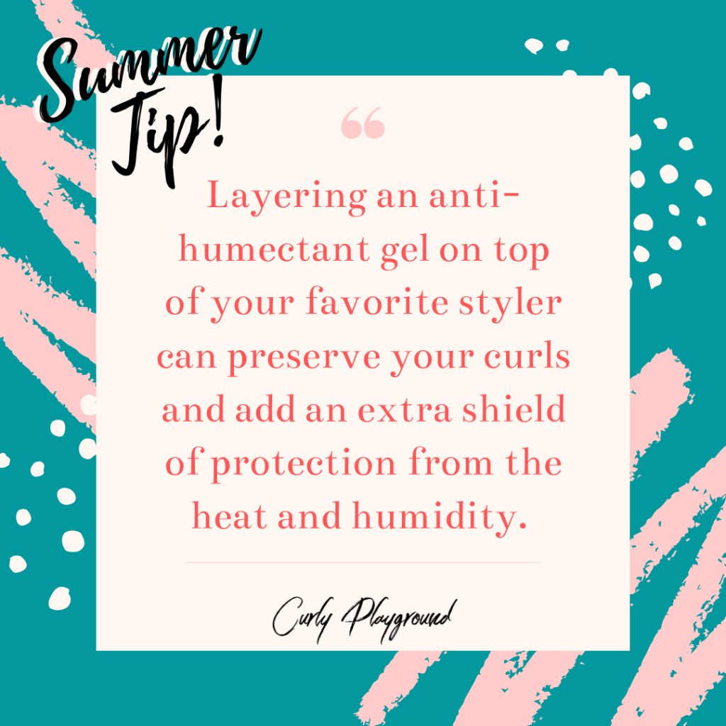 Quote for Summer Natural Hair Tip
